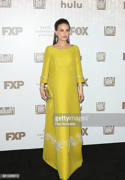 Actress Natalie Portman attends the FOX and FX's 2017 Golden Globe Awards After Party at The Beverly Hilton Hotel on January 8 2017 in Beverly Hills...