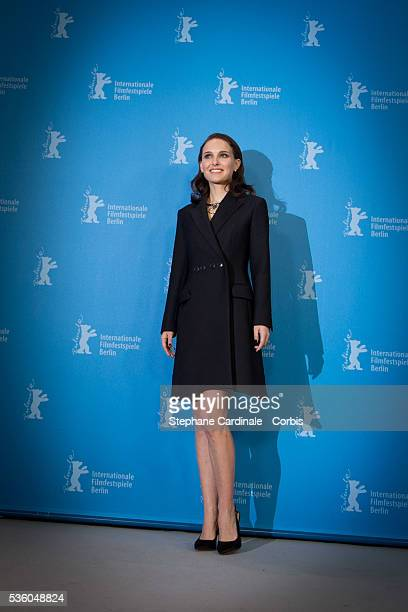 Actress Natalie Portman attends the 'Knight of Cups' photocall during the 65th Berlinale International Film Festival on February 8 2015 in Berlin...
