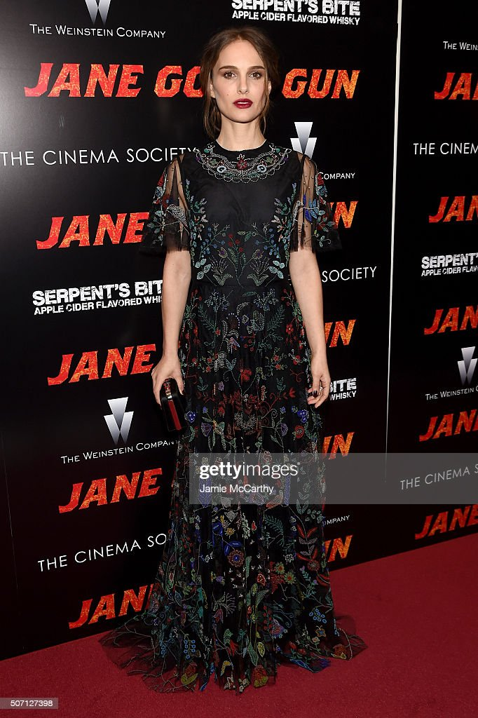 "The Weinstein Company With The Cinema Society & Serpent's Bite Host The New York Premiere Of ""Jane Got A Gun"" - Arrivals"