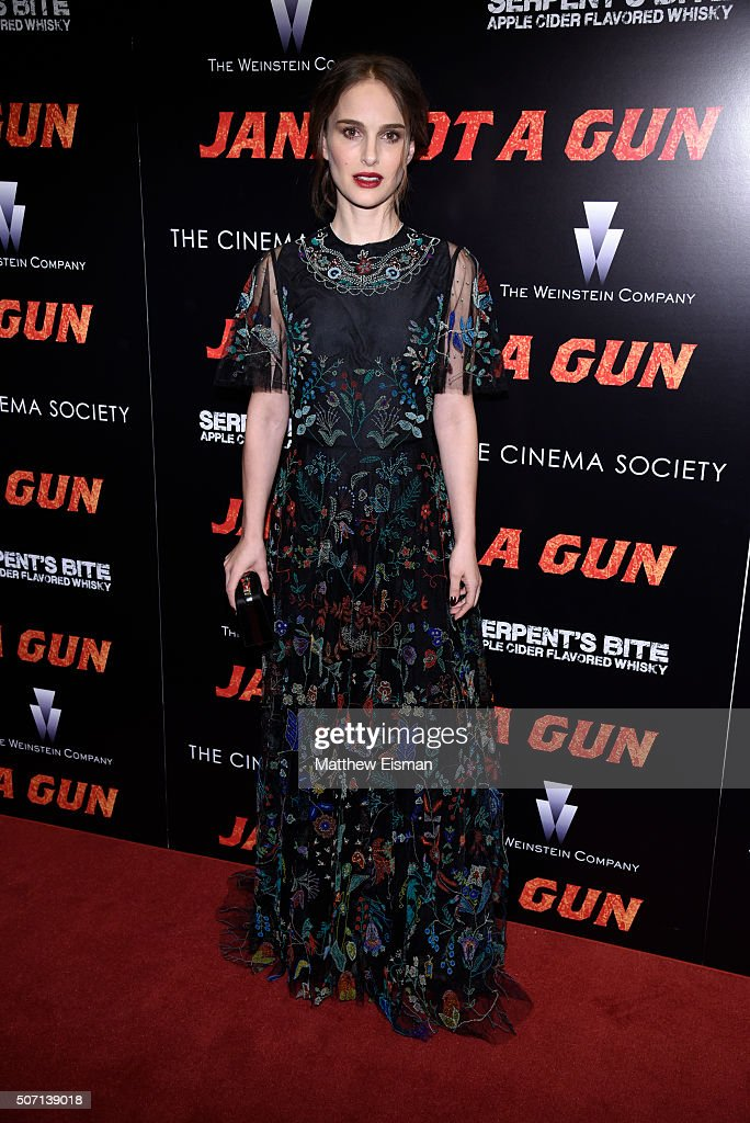 "The Weinstein Company With The Cinema Society & Serpent's Bite Host The New York Premiere Of ""Jane Got A Gun"""