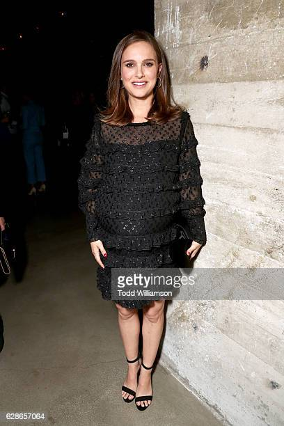 Actress Natalie Portman attends the New York Times Magazine's Great Performers 2016 at NeueHouse Los Angeles on December 8 2016 in Hollywood...