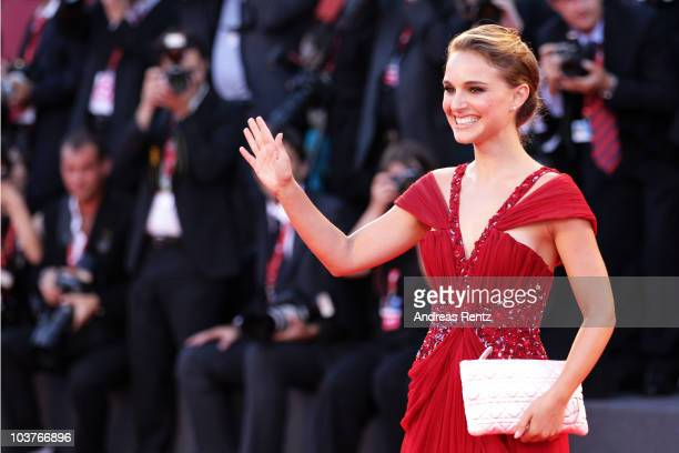 Actress Natalie Portman attends the Opening Ceremony and 'Black Swan' premiere during the 67th Venice Film Festival at the Sala Grande Palazzo Del...