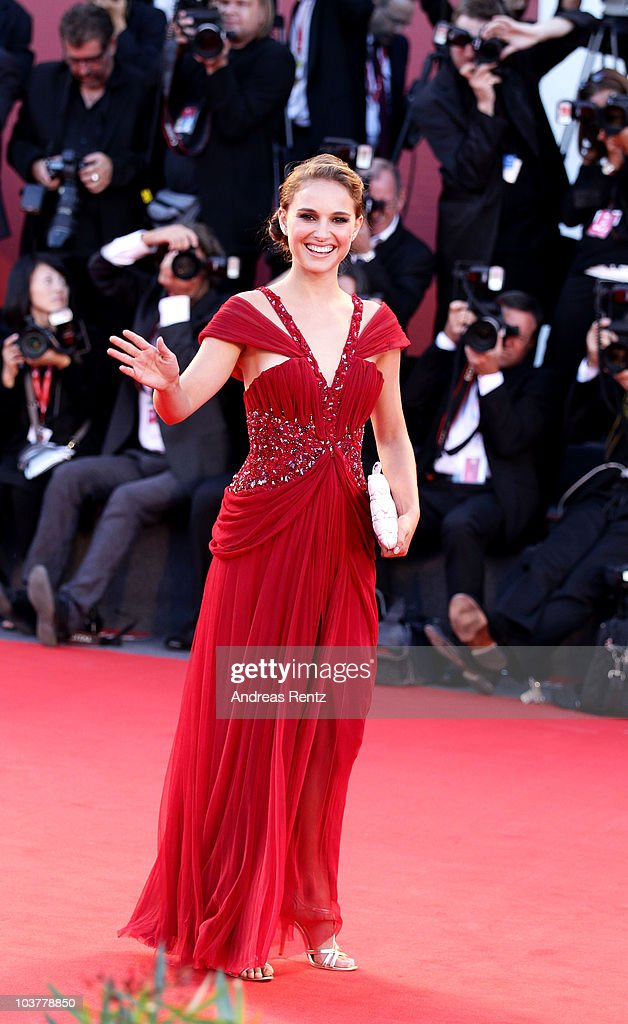 Actress Natalie Portman attends the Opening Ceremony and 'Black Swan' premiere during the 67th Venice Film Festival at the Sala Grande Palazzo Del Cinema on September 1, 2010 in Venice, Italy.