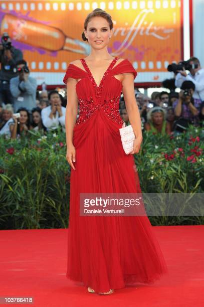 Actress Natalie Portman attends the opening ceremony and the Black Swan premiere at the Palazzo del Cinema during the 67th Venice International Film...