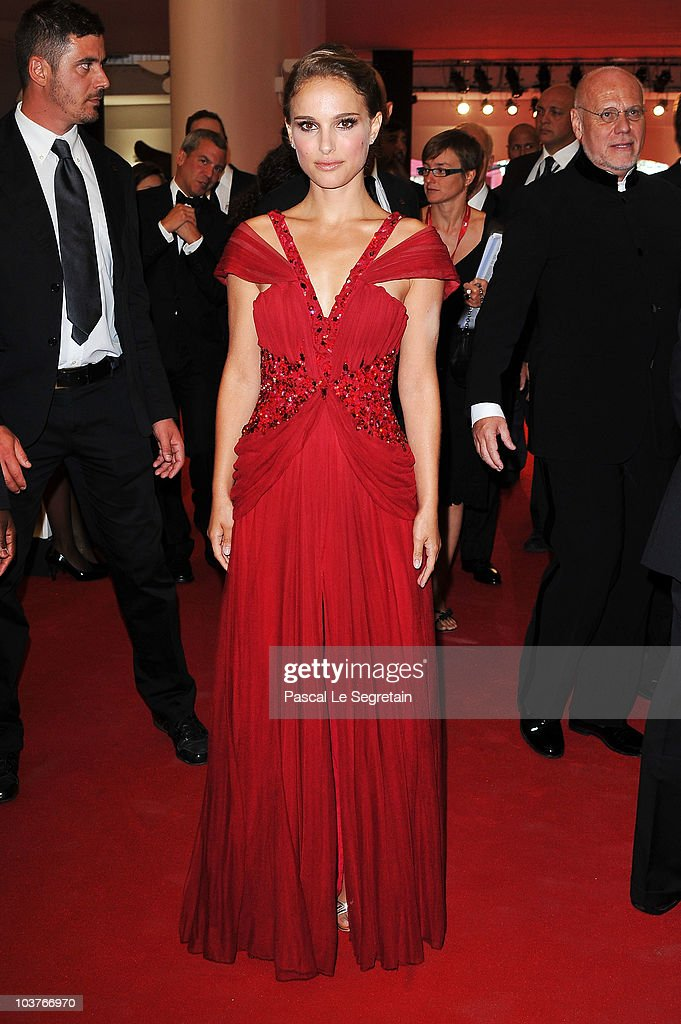 Actress Natalie Portman attends the Opening Ceremony during the 67th Venice Film Festival at the Sala Grande Palazzo Del Cinema on September 1, 2010 in Venice, Italy.