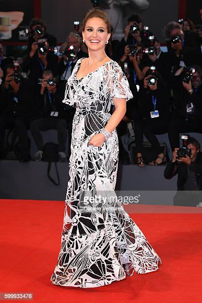 Actress Natalie Portman attends the premiere of 'Jackie' during the 73rd Venice Film Festival at Sala Grande on September 7 2016 in Venice Italy