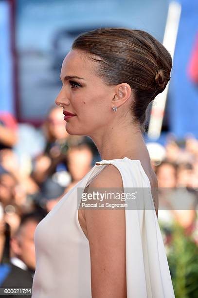 Actress Natalie Portman attends the premiere of 'Planetarium' during the 73rd Venice Film Festival at Sala Grande on September 8 2016 in Venice Italy