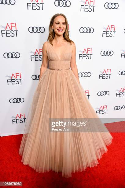 Actress Natalie Portman attends the Vox Lux Special Screening during AFI FEST 2018 presented by Audi at American Cinematheque's Egyptian Theatre on...