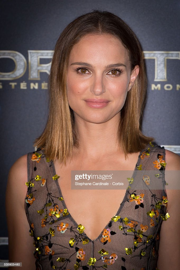 Actress Natalie Portman attends 'Thor: The Dark World' Premiere at Le Grand Rex Cinema, in Paris.