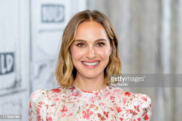 Actress Natalie Portman discusses Lucy in the Sky with the Build Series at Build Studio on October 02 2019 in New York City