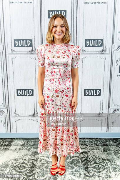 """Actress Natalie Portman discusses """"Lucy in the Sky"""" with the Build Series at Build Studio on October 02, 2019 in New York City."""