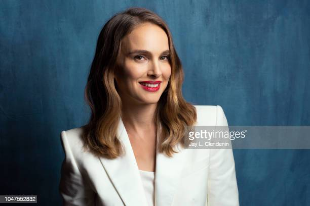 Actress Natalie Portman from 'Vox Lux' is photographed for Los Angeles Times on September 8 2018 in Toronto Ontario PUBLISHED IMAGE CREDIT MUST READ...