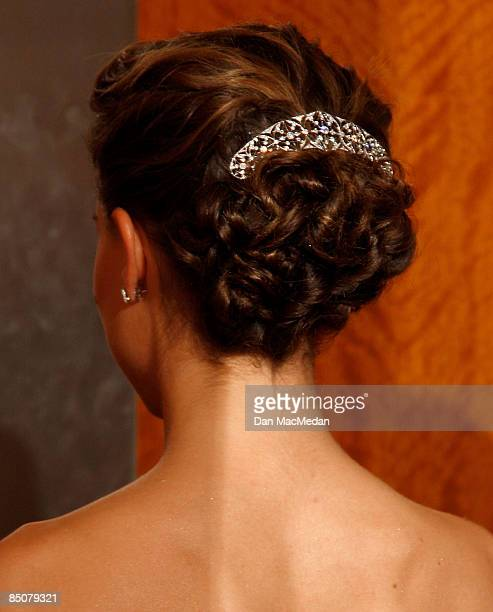 Actress Natalie Portman in the press room at the 81st Academy Awards at The Kodak Theatre on February 22 2009 in Hollywood California