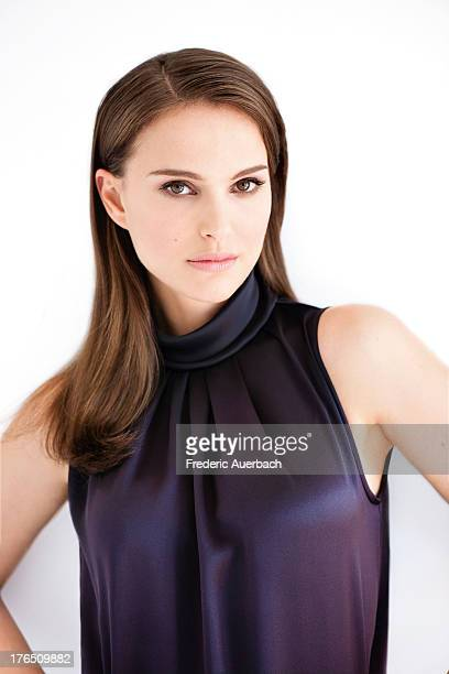 Actress Natalie Portman is photographed for Dior on February 1 2012 in Malibu California