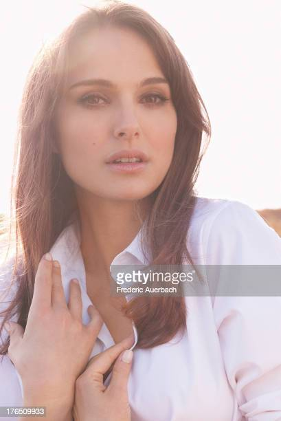 Actress Natalie Portman is photographed for Dior on February 1, 2012 in Malibu, California.