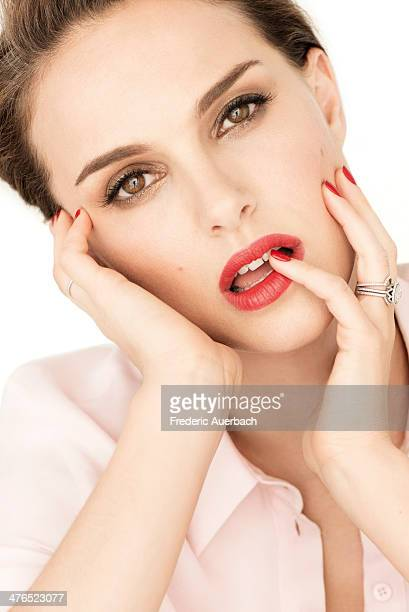 Actress Natalie Portman is photographed for Dior on February 1 2013 in Los Angeles California CREDIT MUST READ Frederic Auerbach for Christian Dior...