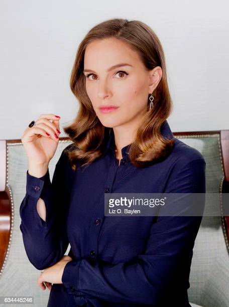 Actress Natalie Portman is photographed for Los Angeles Times on December 6 2016 in Los Angeles California CREDIT MUST READ Liz O Baylen/Los Angeles...