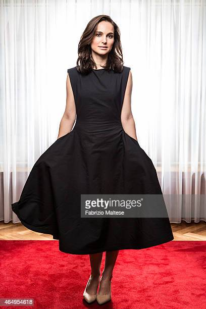 Actress Natalie Portman is photographed for The Hollywood Reporter on February 10 2015 in Berlin Germany