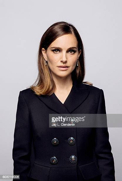 Actress Natalie Portman of 'Jackie' for a portraits at the Toronto International Film Festival for Los Angeles Times on September 11 2016 in Toronto...
