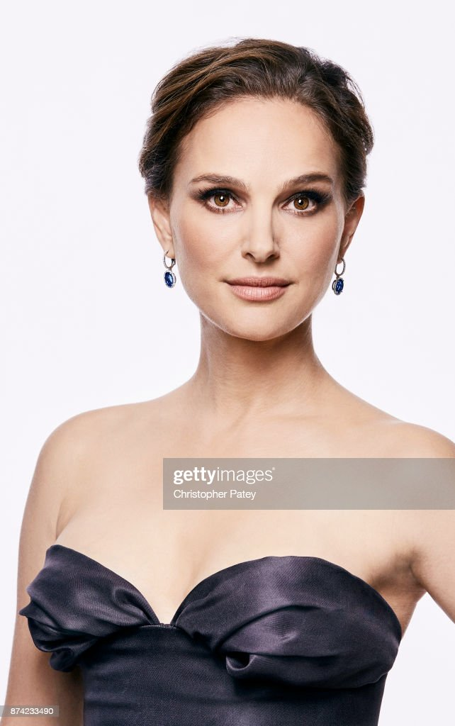 Actress Natalie Portman poses for a portrait at the 31st Annual American Cinematheque Awards Gala at The Beverly Hilton Hotel on November 10, 2017 in Beverly Hills, California. Dress by Dior.