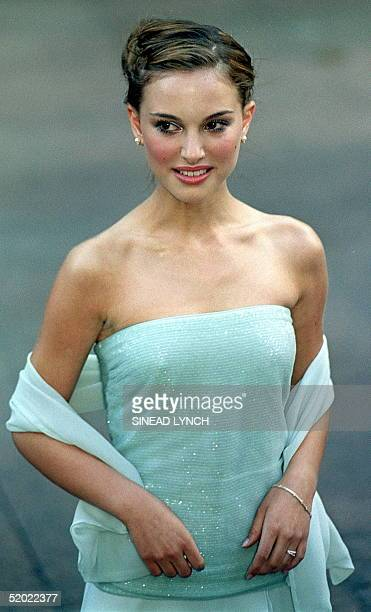 Actress Natalie Portman who plays Queen Amidala in the new Star Wars movie, The Phantom Menace arrives for the Royal Premier of the eagerly awaited...