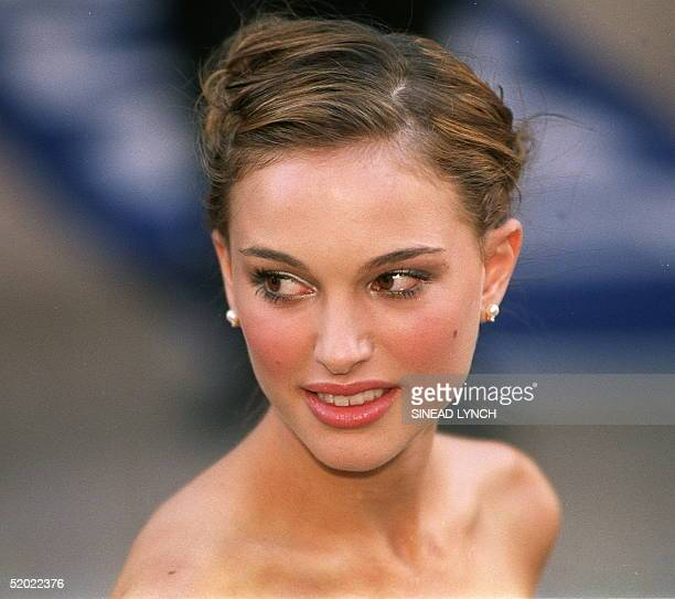 Actress Natalie Portman who stars as Queen Amidala in the new Star Wars movie, The Phantom Menace arrives for the Royal Premier of the eagerly...