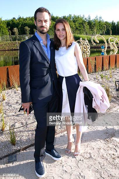 "Actress Natalie Portman with her husband, Paris National Opera dance director, Founding Director of ""L.A. Dance Project"" and Creator of the Ballet..."