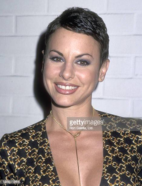 Actress Natalie Raitano attends the Miramax Films Hosts Party in Honor of Photographer Henry Diltz on November 30 2000 at the Hard Rock Cafe in Los...