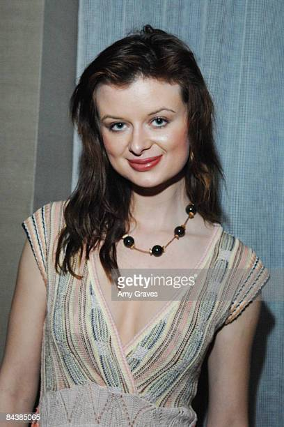 Actress Natalie Reid attends Film Independent's Cinema Lounge at the Whiskey Blue at the W Hotel on January 20, 2009 in Westwood, California.