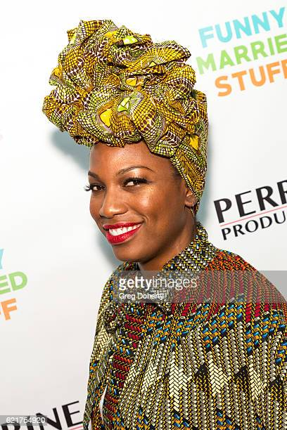 Actress Natalie Taylor arrives for the Screening Of Perrine Productions' 'Funny Married Stuff' at the ACME Comedy Theatre on November 7 2016 in Los...