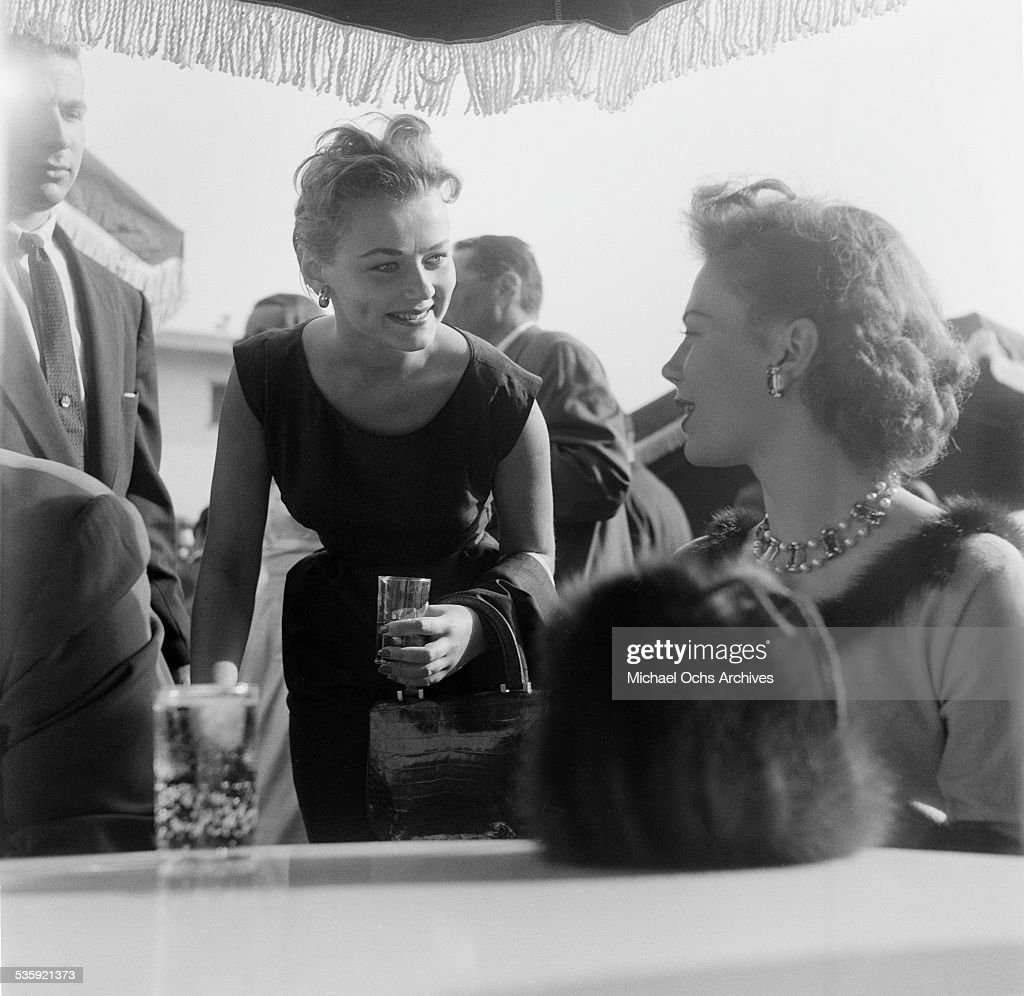 Actress Natalie Wood attends the Screen Directors Building party in Los Angeles,CA.