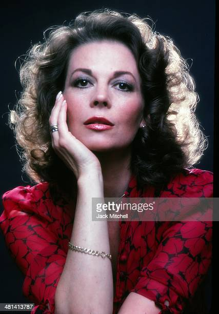 Actress Natalie Wood photographed in 1979
