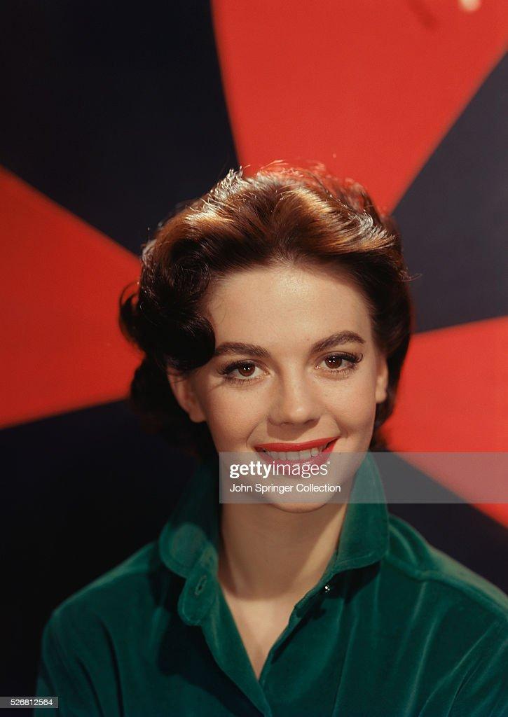 Actress Natalie Wood Smiling