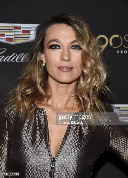 Actress Natalie Zea arrives at the Cadillac Oscar Week Celebration at Chateau Marmont on March 1 2018 in Los Angeles California