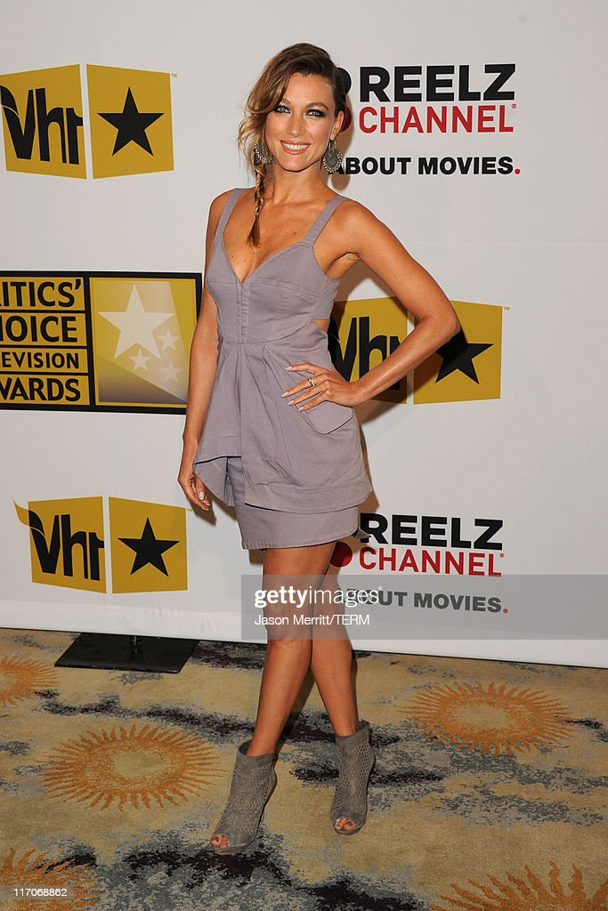 Actress Natalie Zea arrives at the Critics' Choice Television Awards at Beverly Hills Hotel on June 20, 2011 in Beverly Hills, California.