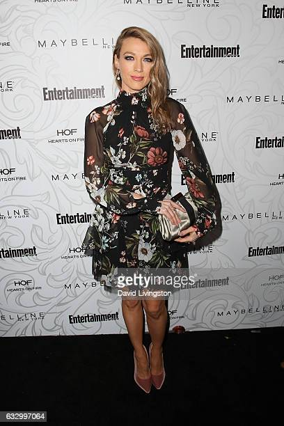 Actress Natalie Zea arrives at the Entertainment Weekly celebration honoring nominees for The Screen Actors Guild Awards at the Chateau Marmont on...