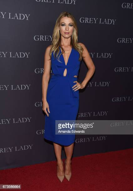 Actress Natalie Zea arrives at the premiere of Pataphysical Production's 'Grey Lady' at The Landmark on April 26 2017 in Los Angeles California