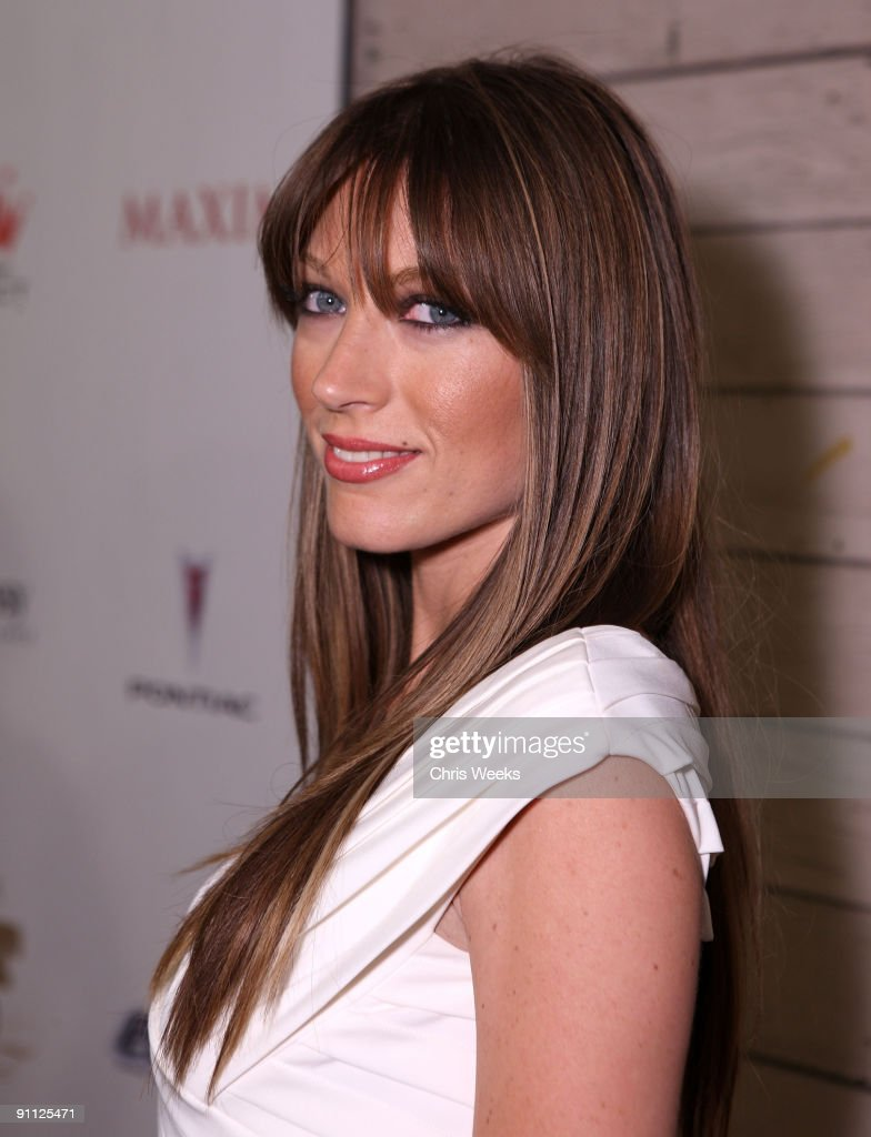 Actress Natalie Zea Arrives To Maxim S 2008 Hot 100 Party At News Photo Getty Images