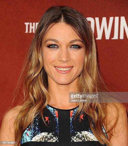 Actress Natalie Zea attends a screening and QA of The Following at Leonard H Goldenson Theatre on April 29 2013 in North Hollywood California