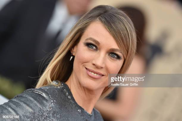 Actress Natalie Zea attends the 24th Annual Screen Actors Guild Awards at The Shrine Auditorium on January 21 2018 in Los Angeles California