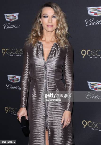 Actress Natalie Zea attends the Cadillac celebration for the 90th Annual Academy Awards at Chateau Marmont on March 1 2018 in Los Angeles California