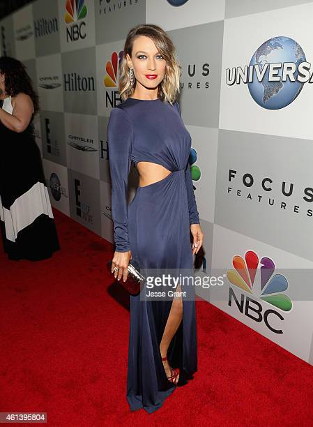 Actress Natalie Zea attends Universal NBC Focus Features and E Entertainment 2015 Golden Globe Awards After Party sponsored by Chrysler and Hilton at...