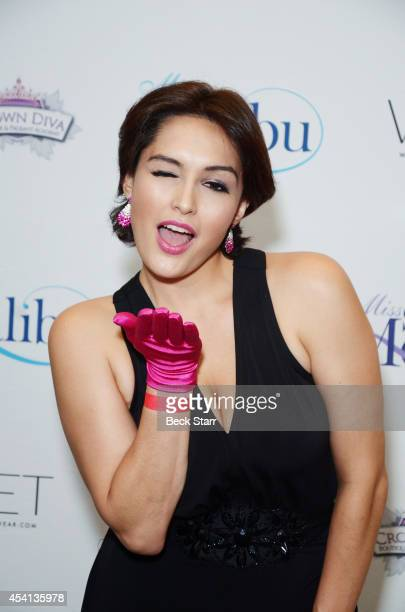 Actress Nataliya Joy Prieto arrives at The Tenth Annual Miss Malibu and 3rd Annual Miss Beverly Hills Pageant at the Loews Santa Monica Beach Hotel...