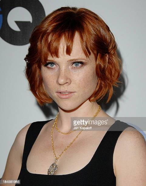 Actress Natalya Rudakova arrives at the 13th Annual GQ Men of the Year Party at the Chateau Marmont on November 18 2008 in Los Angeles California
