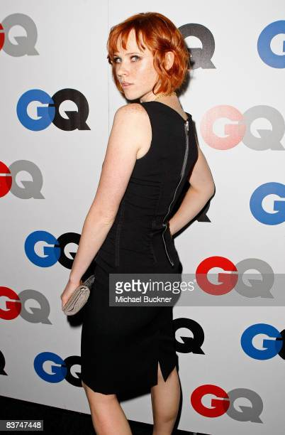 Actress Natalya Rudakova arrives at the GQ Men of the Year party held at the Chateau Marmont Hotel on November 18 2008 in Los Angeles California