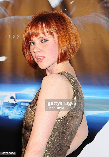Actress Natalya Rudakova arrives to attend the Las Vegas premiere of Transporter 3 at Planet Hollywood Resort and Casino on November 21 2008 in Las...