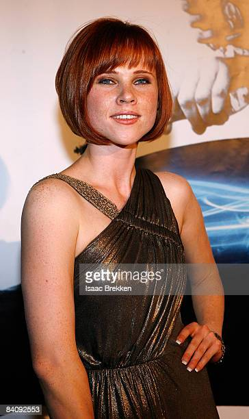 Actress Natalya Rudakova attends Planet Hollywood Resort Casino's Transporter 3 premiere on November 21 2008 in Las Vegas Nevada
