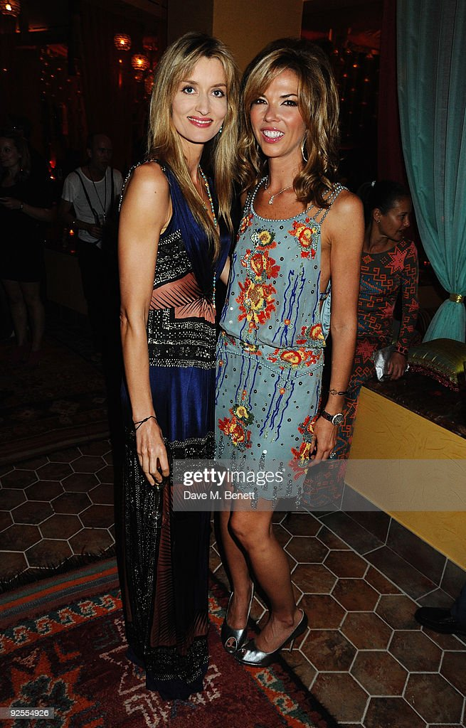 Actress Natascha Mc Elhone and Heather Kerzner attend a party held for the grand opening of Mazagan Beach Resort on October 30, 2009 in El Jadida, Morocco. Kerzner International have launched a brand new 500-room tourist destination in Morocco boasting an 18-hole golf course designed by Gary Player, a 7km stretch of beach, luxury boutiques, eight restaurants, casino, nightclub, a spa and one of the largest conference centres in the region.