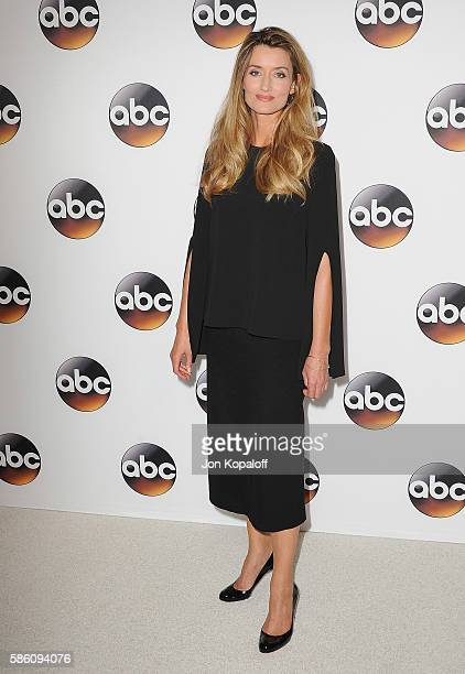 Actress Natascha McElhone arrives at Disney ABC Television Group Hosts TCA Summer Press Tour at the Beverly Hilton Hotel on August 4 2016 in Beverly...
