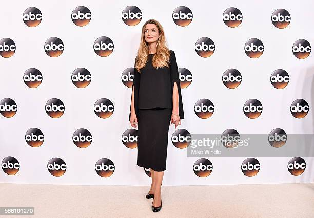Actress Natascha McElhone attends the Disney ABC Television Group TCA Summer Press Tour on August 4 2016 in Beverly Hills California